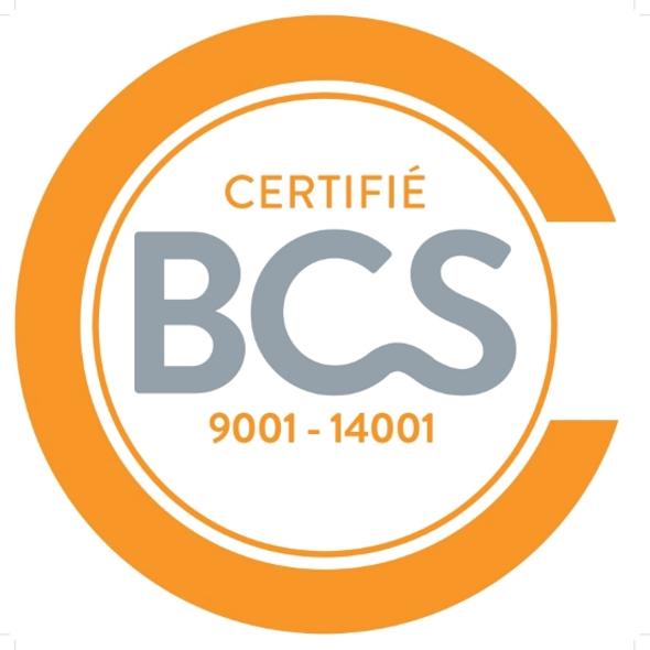Certification ISO 9001 et ISO 14001